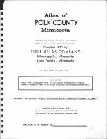 Title Page, Polk County 1970